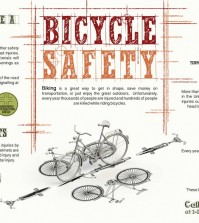 The things that you have to remember when riding a bicycle