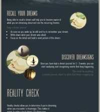 The things that you should do in order to experience lucid dreaming infographic