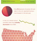 Some Statistics Of Breast Cancer Infographic