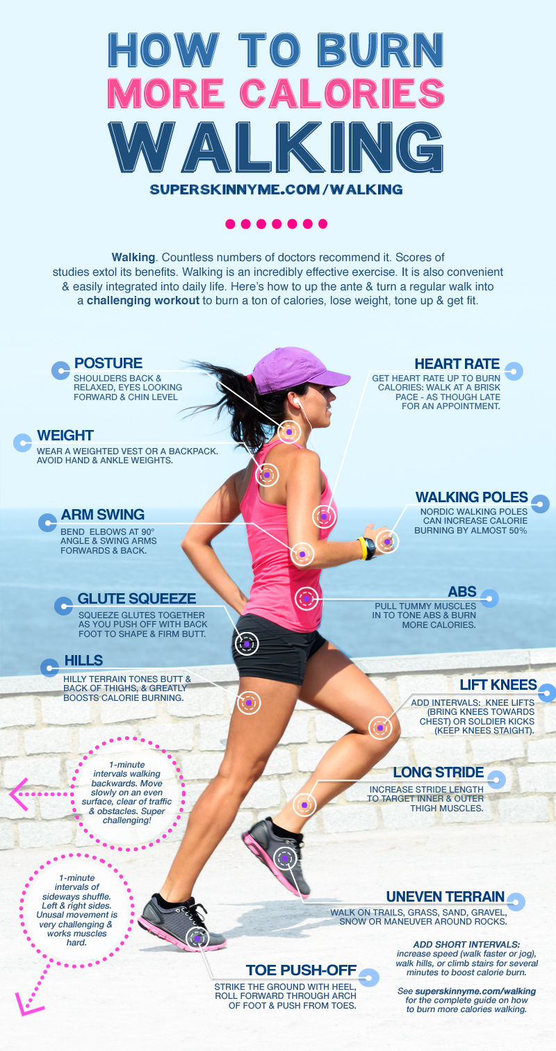 15 tips of burning calories with walking infographic How many calories do you burn doing yard work