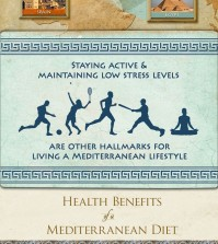 Mediterranean Diet Plan Infographic