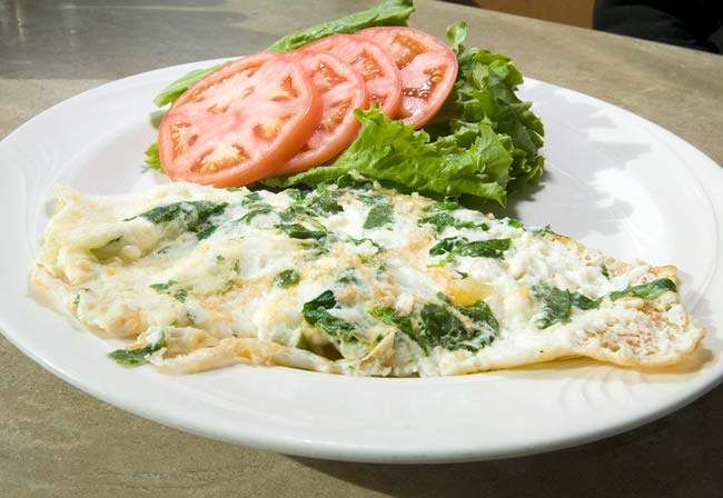 egg whites omelet