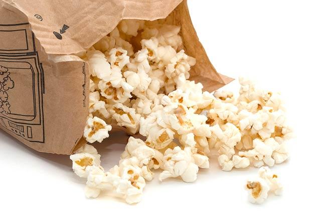 microwave popcorn