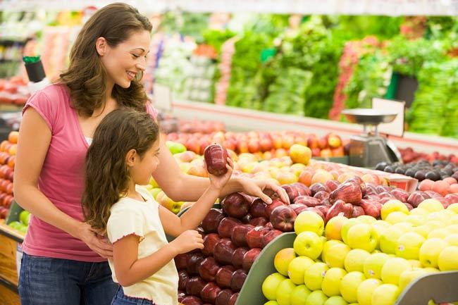 non organic fruit