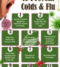 11 Ways How To Cure Colds And Flu Infographic