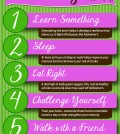 6 Tips How To Improve Your Memory Infographic