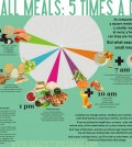 5 Bites Per Day Infographic