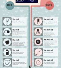Do's & Dont's During Pregnancy Infographic