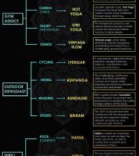 Choosing Your Yoga Infographic