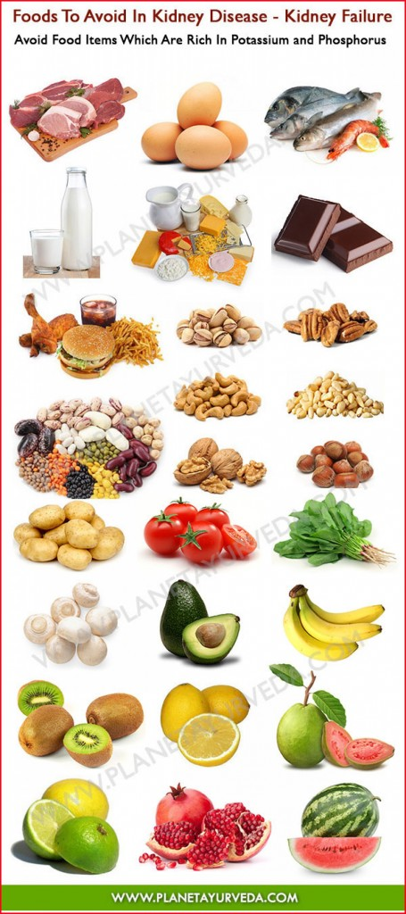 Foods Not To Eat If You Have Kidney Failure