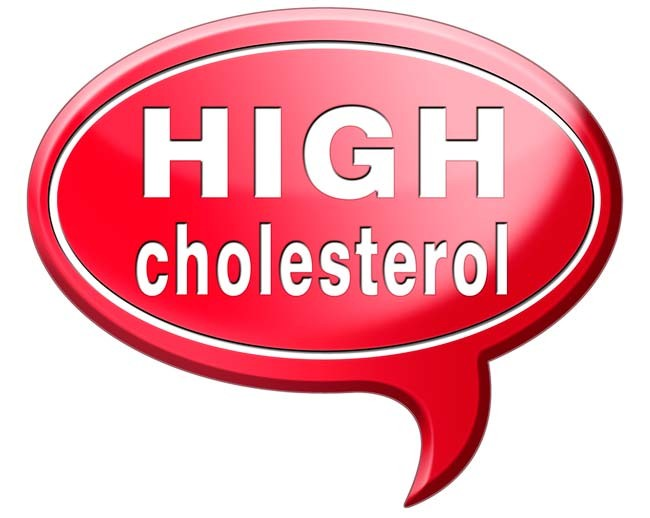 high cholesterol sign