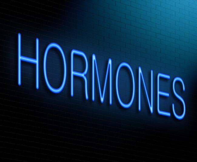 Hormone Concept.