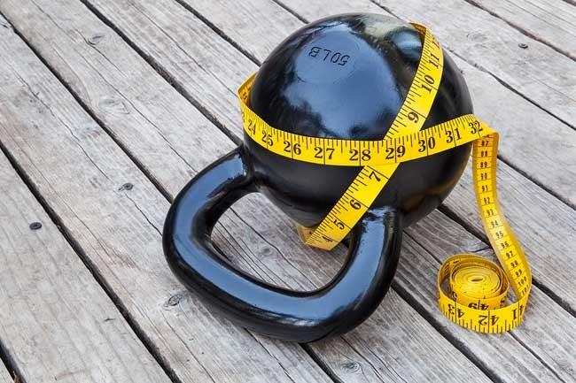 kettlebell measuring tape