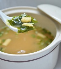 Miso Soup With Tofu And Seaweed