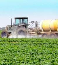 pesticides_ spraying field