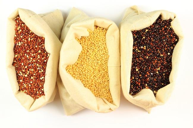 Organic Quinoa.