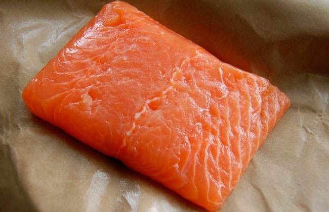 salmon farmed