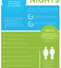 10 Tips For Better Sleep Infographic