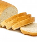 bread isolated on a white background