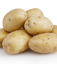 Potatoes Isolated On White Background