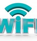 Wifi - Blue Letters
