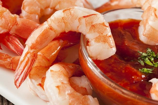 Fresh Organic Shrimp
