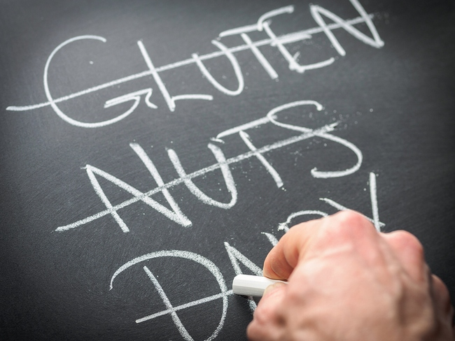 eliminating foods allergy
