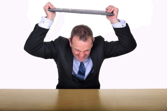 Office Frustration