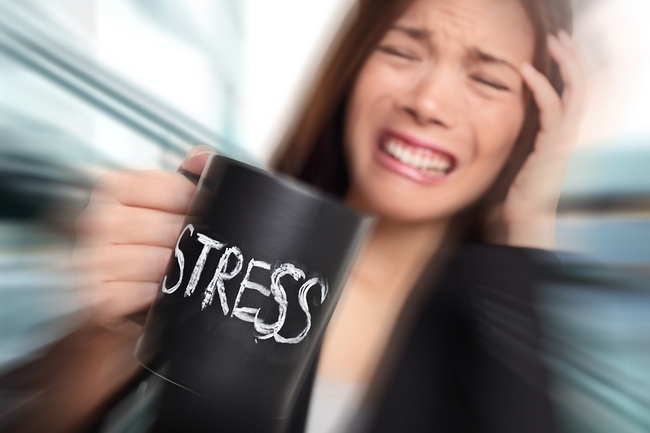Chronic stress and anxiety can damage the brain