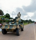Editorial-Use-Africa-Military-Tank