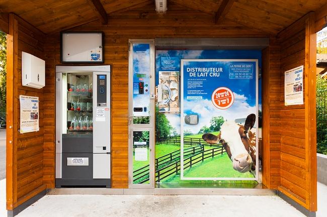 Automated Milk Vending Machine France