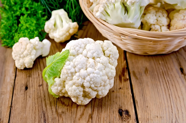 Cauliflower With A Basket O