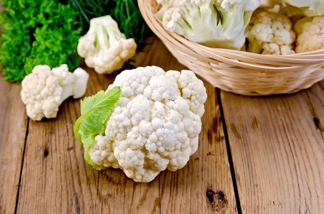 Cauliflower With A Basket O