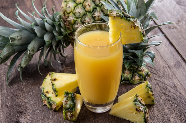 Fresh Made Pineapple Juice