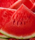 Slices of juicy watermelon