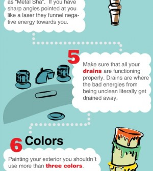 10 feng shui rules infographic Feng shui rules