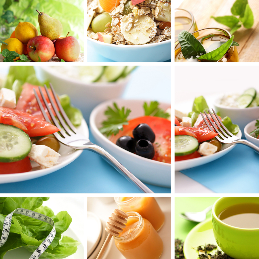 how to eat healthy and feel full