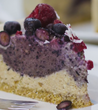 Delicious Berry Cheesecake For A Raw Vegan Celebration Video