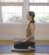 The Hero Pose: Master The Basic Seated Yoga Asana Video
