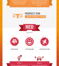 Colors And Their Influence On Your Mind Infographic