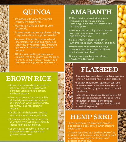 Why Eat Ancient Grains? Infographic