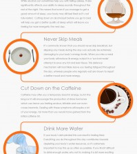 Top Tips to Skyrocket Your Energy Throughout The Day Infographic