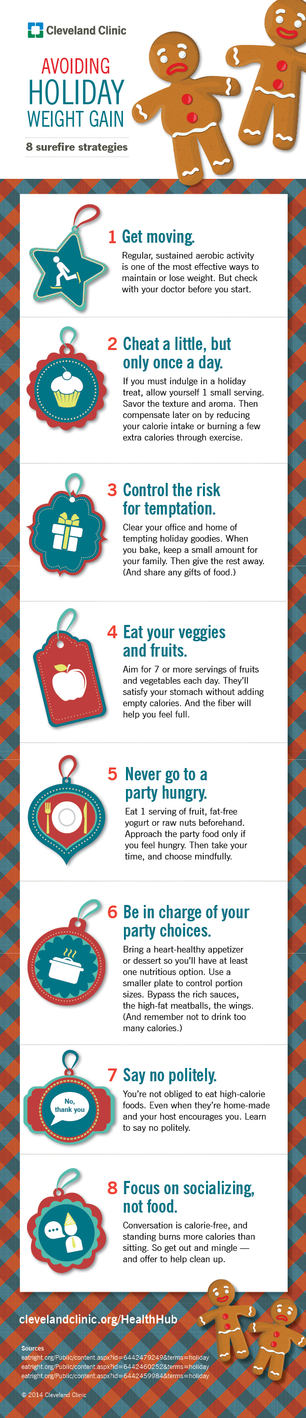 Avoid Holiday Weight Gain With These Surefire Hacks Infographic