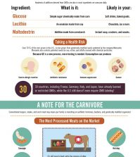 On The Hunt For Real Food: Why It's So Hard To Find Infographic