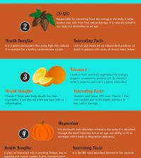 Top 5 Health Supplements You Should Add To Your Diet Infographic