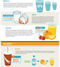 Best & Worst Drinks To Give To Your Kids Infographic