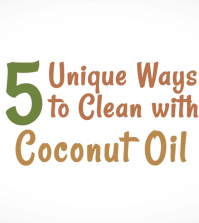 5 Surprising Ways To Use Coconut Oil For Cleaning Video