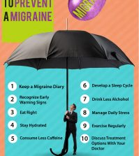What Can You Do To Avoid Migraines? 10 Effective Ways Infographic
