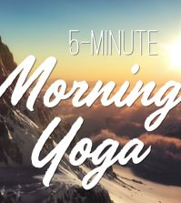 5-Minute Morning Yoga For Energized Day Video