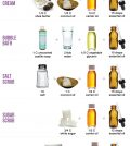 DIY Shower And Bath Cosmetics: Easier Than You Think Infographic
